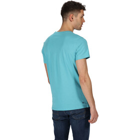 Regatta Cline IV Camiseta Hombre, azul